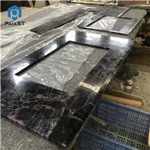 Backlit Semiprecious Stone Countertop & Vanity Top