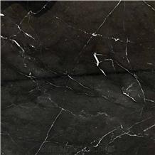 Black Safari Marble Slabs, Tiles