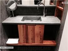 Beola Nera Vanity Top, Bathroom Countertop