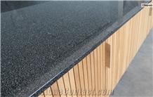Black Pepper Granite Kitchen Countertop, Island Top