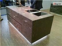 Moonrock Quartzite Kitchen Countertop, Island Top