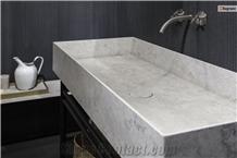 Portland Grey Limestone Farm Sink