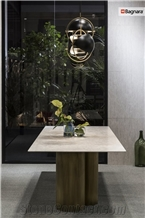 Portland Grey Limestone Table Top