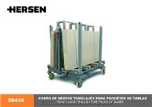 Hersen 50438 Heavy Load Trolley for Packs Of Slabs