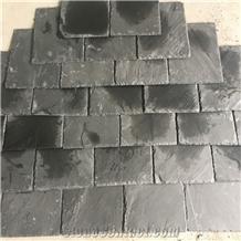 Black Slate Roofing Tile, Natural Slate Roof Tiles