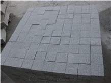 Chinese Cheap Grey Granite G603 Cubes for Paving