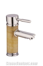 New Design Natural Stone Green Onyx Faucet Tap