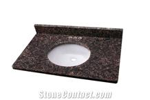 Tan Brown Granite Vanity Top Bathroom Countertops
