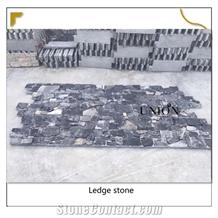 Midnight Limestone Z Shape Cladding Veneer-Cultured-Stone