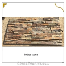 Natural Multicolor Rusty Ledge Stone Wall-Cladding-Panels