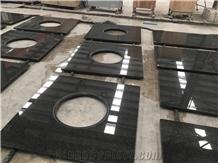 Black Pearl Granite Black Granite Vanity Tops