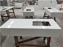Nano Crystallized Stone Vanity Tops Bathroom Top Bath Tops