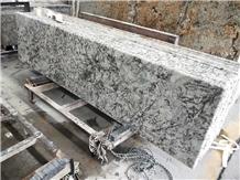 Crystal White Granite Prefabrication Countertop