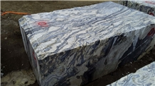 Chinese Twlight Blue Marble Big Size Blocks