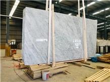 Classy Bianco Carrara White Marble Slabs&Tiles