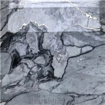 Luxuy White Marble with Silver Grain Royal Platinum Marble