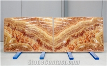 Lava Onyx 2 cm Bookmatched Slabs