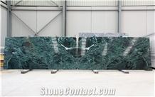 Verde Alpi Marble Slabs 2 Cm, Bookmatch