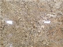 Luxury Phantom Golden Flower Granite Slab and Tiles