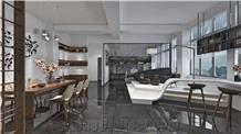 Pietra Gray Marble Floor Tile/ Iranian Gray Marble