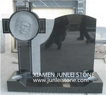 Black Granite Tombstone Professional Productionsupplier