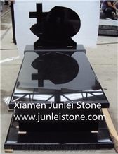 G654 Shanxi Black Granite Tombstone Production Supplier