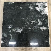 Titanium Green Granite Slabs/Tiles