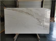 China Origin Arabescato Venato White Marble Slabs