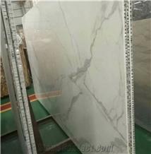 Statuario Calacatta White Marble Honeycomb Lightweight Panel