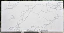 A Grade Statuario Maximus White Quartz Slabs