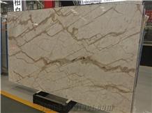 Calacatta White Gold Vein Marble Slabs,Wall Floor Tiles