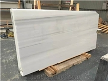 Fantasy White Marble with Little Grey Stripe