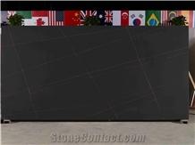 Nior Laurent Black Quartz Slabs & Tiles