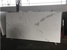 Statuario Fantastico White Quartz Slabs