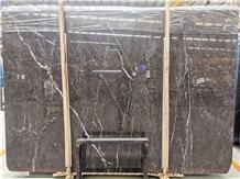 Wyndham Grey Marble Slab Tile Project