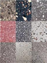 Inorganic Terrazzo Stone Terrazzo Flooring Tile