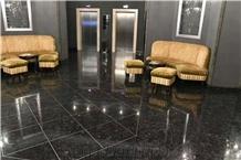 Ukraine Galactic Blue Granite Polished Floor Tiles & Slabs