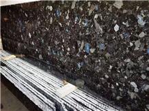 Ukraine Galactic Blue Granite Polished Wall Slabs & Tiles