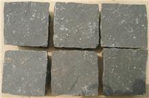 Black Basalt Cube Stone, Paver, Pavement