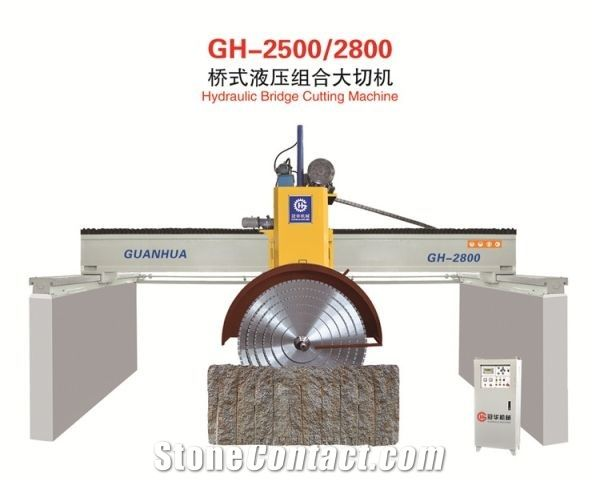 hydraulic Bridge block Stone Cutting Machine