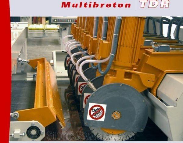Multibreton TDR Multi-blade cross-cut saw for Marble,Granite