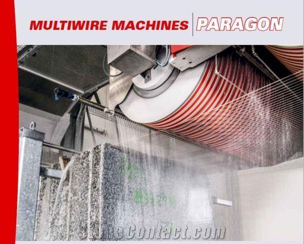 Paragon 2100/6/F30/56 Evo Multi Wire Saw Machine for Marble,Granite Block Cutting