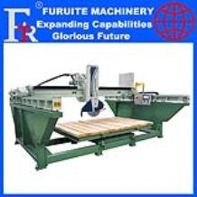 FRT-625 steel frame marble granite stone cutting machine bridge saw for kitchen countertop
