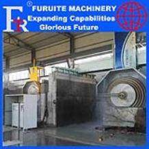 FRT-2000/2500/2800 multi blade disc stone cutting machine full automatic plc control for granite block slice on selling