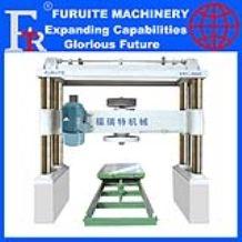 full automatic circular stone cutting machine barrel saw marble granite block round slab sheet board production export