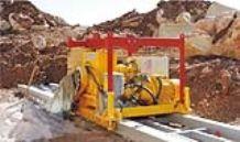Rails type chain saw