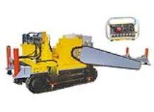 Crawler type chain saw