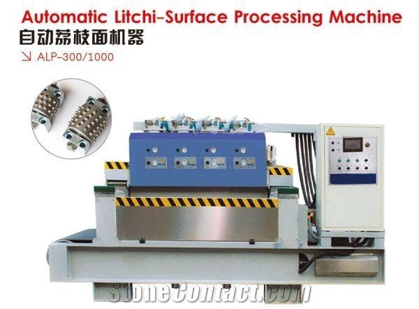 Automatic Stone Lichi-surface finish proccessing machine