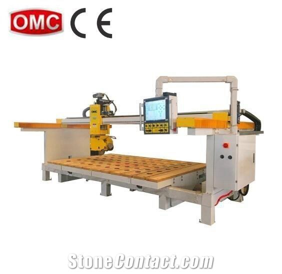 Granite marble kitchen sink manufacturing CNC 5 axis machine