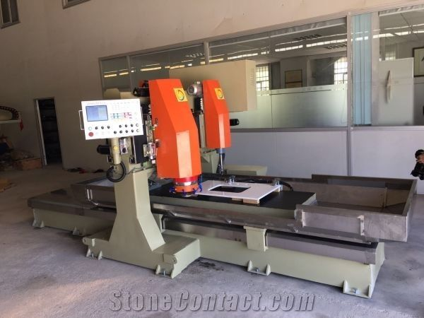 Automatic CNC counter top(basin hole) machine